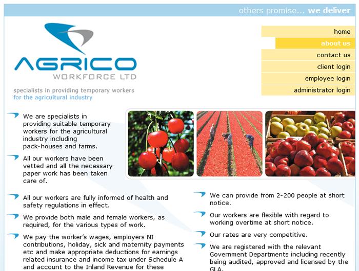 Agrico Workforce